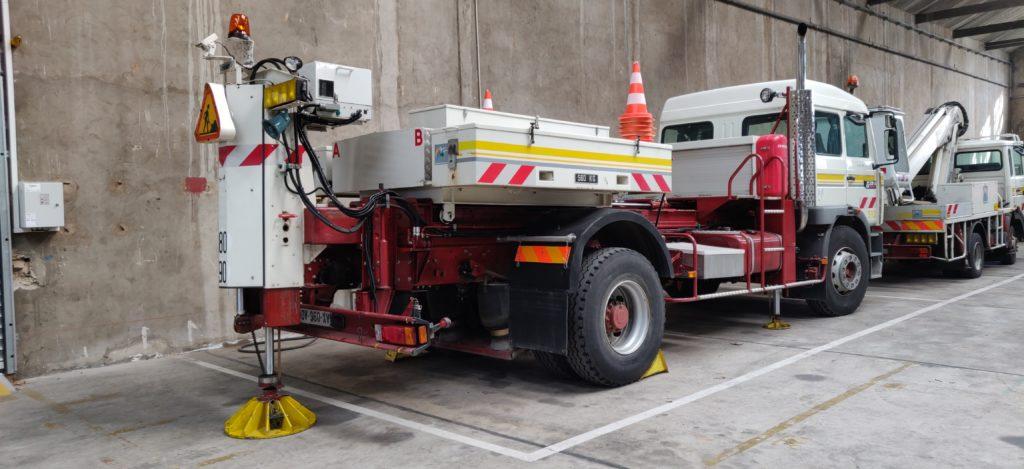 Internet des objets - Camion de pompier